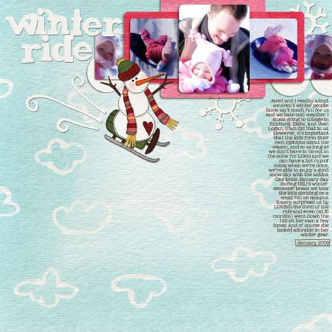 Winter rideW